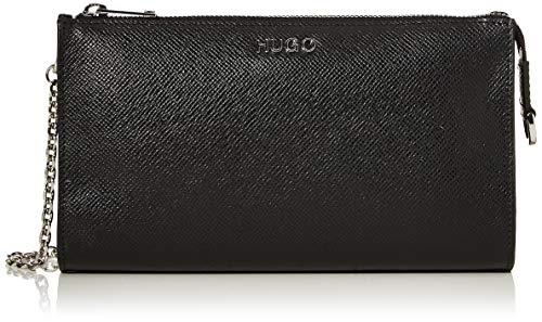 HUGO Damen 50424199 Umhängetasche, Schwarz (Black), 4.5x13x22.5 cm