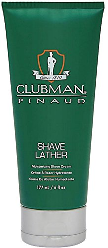 Clubman Pinaud Shave Lather Moisurizing Shave Cream 6 oz (Pack of 3)