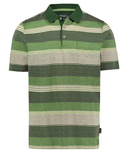 Maerz München AG Shirt POLOHEMD, KNOPF 1/2 ARM, grün(nephritgreen), Gr. 52