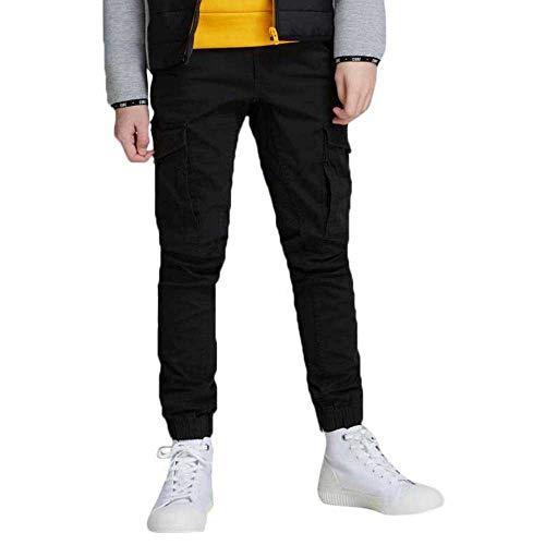 JACK & JONES Jungen JJIPAUL JJFLAKE AKM 542 Black NOOS JR Jeans, (Herstellergröße: 164)
