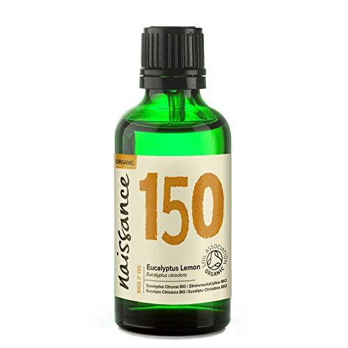 Naissance Eucalipto Citriodora Biologico - Olio Essenziale Puro al 100% - 50ml