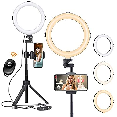 Ring Light with Tripod Stand from VIJIM