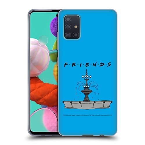 Head Case Designs Offizielle Friends TV Show Brunnen Ikonisch Soft Gel Huelle kompatibel mit Samsung Galaxy A51 (2019)