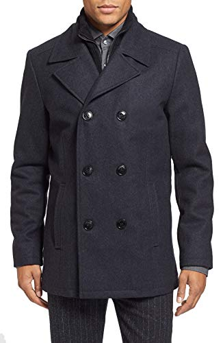 Kenneth Cole New York Wool Peacoat Navy SM
