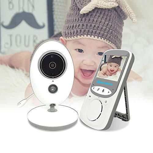 ZTKBG Vidéo sans Fil Nanny Cam Babyphone interphone Caméra bébé Vision Nocturne Température de Surveillance babyphone Nounou Baby-Sitter