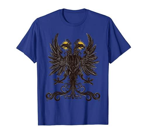 Águila de doble cabeza del Imperio Romano Camiseta
