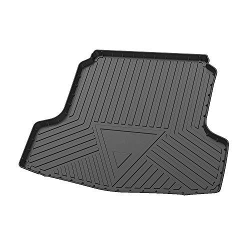 Cqlights Altima Cargo Liner for Nissan Altima 2013-2018 Trunk Liner Tray Heavy Duty Rubber Rear Cargo Area Mat Waterproof Protector Floor Mat Black