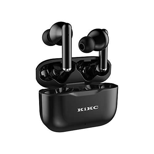 Écouteur Bluetooth, Znines Bluetooth 5.0 Casque sans Fil Deep Bass Stereo in-Ear Oreillette, Micro intégré, Écouteur de Sport Écouteur IPX5 avec boîtier de Charge, Noir