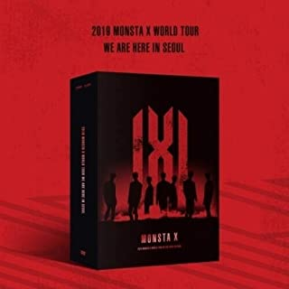 We are Here - In Seoul (2019 Monsta X World Tour) (Incl. 3 x DVD(Region Free), 120-pg Photobook, Hologram Photocard Set + ...