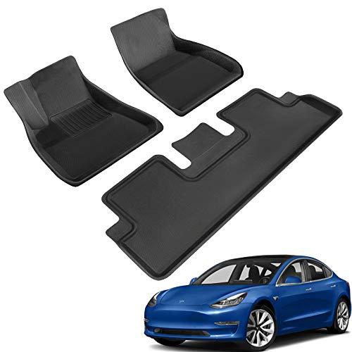 TAPTES Tappetini per tutte le stagioni per Tesla Model 3 2019 2020 2021, rivestimento 3D per Tesla Model 3