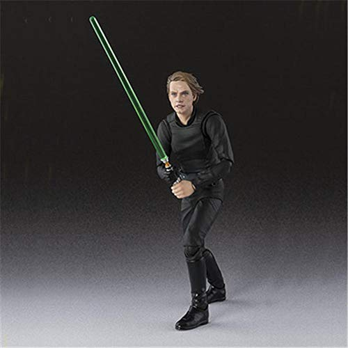 Aoolomy Action Figure Model Collection Planet Wars Jedi Knight Skywalker Luke Luke Action Figure 15Cm For Kids Teens And Anime-Fans