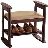 Zapatero Antiguo De Madera Maciza Para Guardar Zapatos, Para Ahorrar Espacio, Adecuado Para Usar En El Pasillo, Baño, Sala De Estar, Dormitorio Home Diseño Zapatero Estantes Duradera Minimalista