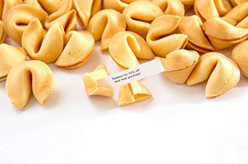 Custom Fortune Cookies - 500 cookies - Gourmet Vanilla flavor - Your Message Inside