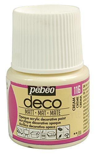 Pébéo Deco Peinture 45 ml Mat Crème