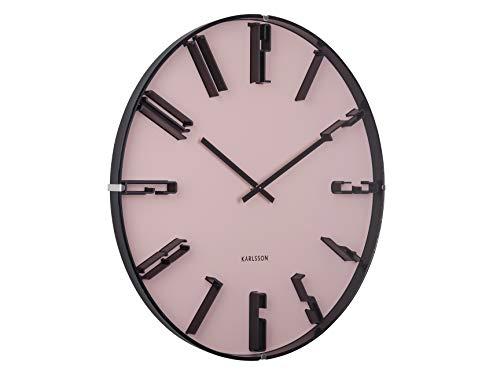 Karlsson KA5703PI - wandklok, klok - sentient - faded pink/roze - Ø 40 cm