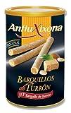 AntiuXixona Barquillos Rellenos de Turrón, 200g