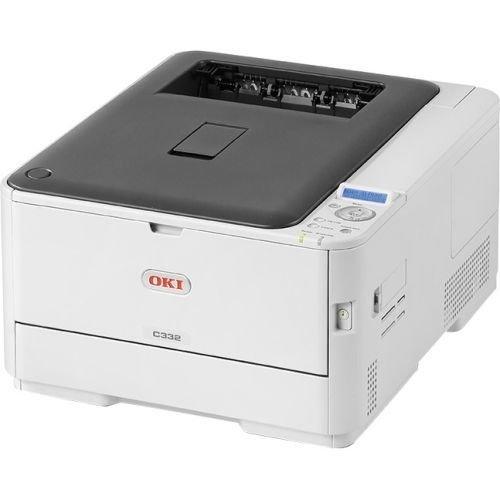 Oki C332dn LED Printer - Color - 31 ppm Mono / 27 ppm Color - 1200 x 600 dpi Print - Automatic Duplex Print - 350 Sheets Input
