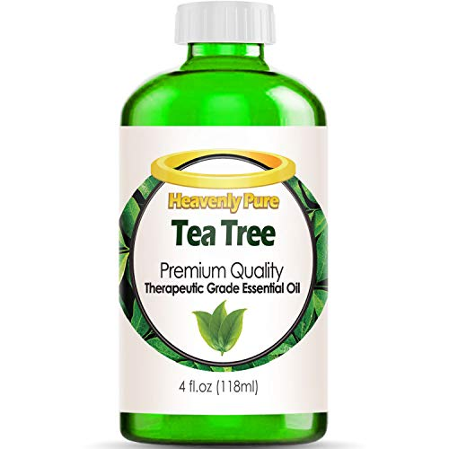 Tea Tree Essential Oil - Huge 4 OZ Bulk Size - 100% Pure Therapeutic Grade - Tea Tree Oil is Great for Aromatherapy, Acne, Hair Nourishment, Sinus & Allergies, More!