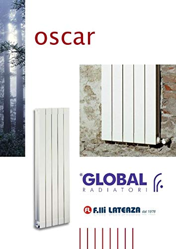 Radiator global int. Oscar 2000 wit vanaf 04 elementen aluminium