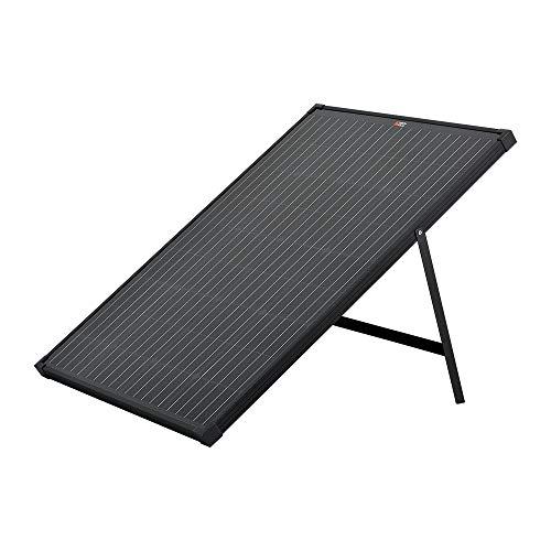 RICH SOLAR 60 Watt 12 Volt Portable Monocrystalline Solar Panel with Kickstand for Portable Power Stations Solar Generators Premium Design