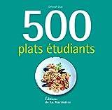 500 plats étudiants