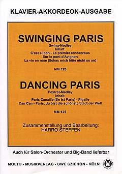 SWINGING PARIS + DANCING PARIS - MEDLEY - gearrangeerd voor piano [Noten / Sheetmusic]