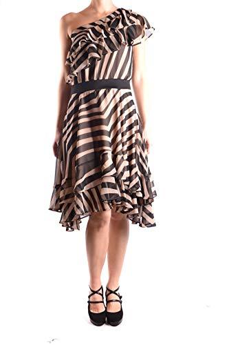 Fracomina Damen Mcbi33321 Schwarz Polyester Kleid