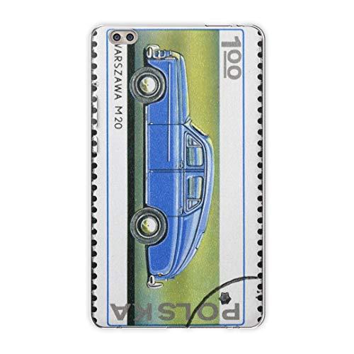 igcase dtab compact d-02k docomo dタブ 用 タブレット ケース タブレット カバー TPU ソフトケース 010335 乗り物 車 切手
