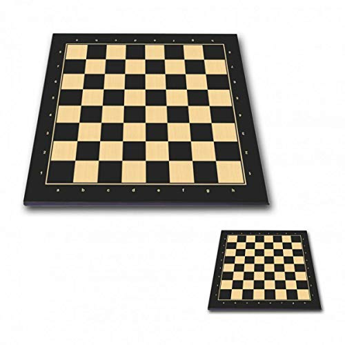 "Professional Tournament Chess Board 5P Black - - 2"" / 50 mm Field - 20"" Size"