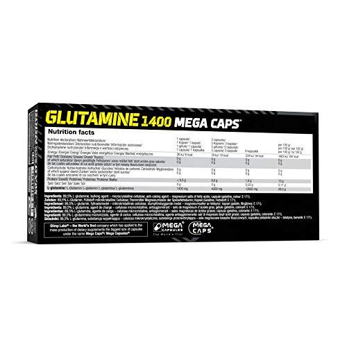 Olimp L-Glutamine Mega Caps, 120 Kapseln - 6