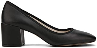Kenneth Cole New York Women's Eryn Dress Pump Low Heel Square Toe Suede