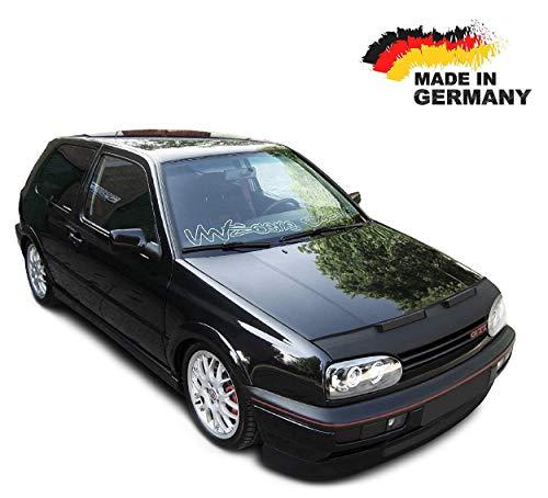 Black Bull Haubenbra für VW Golf 3 Steinschlagschutz Motorhaubenschutz Automaske