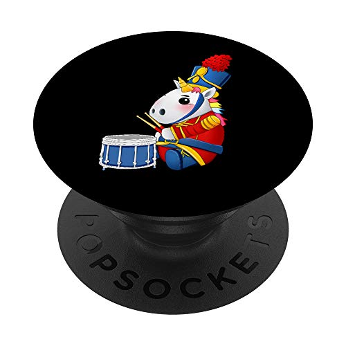 Drumline Unicorn Snare Matching Percussion Marching Band PopSockets Grip and Stand for Phones and Tablets