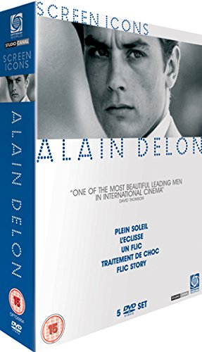 Alain Delon Collection - Screen Icons [5 DVDs] [UK Import]