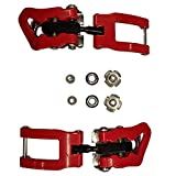 ATOMIC Redster Buckle Set Toe Pair Red