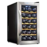 Ivation 18 Bottle Thermoelectric Red And White Wine Cooler/Chiller...