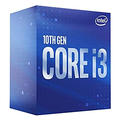 Intel - Client Cpu Core I3-10100f 3.60ghz Sktlga1200 6mb Cache Boxed In