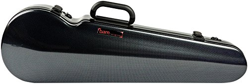 Bam High Tech Contoured Violin Case Carbon Black