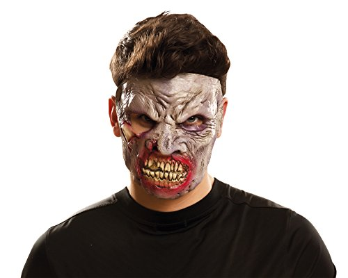 My Autres Me (viving Costumes mom02346) – Masque de Zombie pour Les Adultes, Hungry Taille Simple