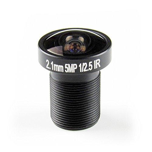 OWSOO Objektiv Fisheye 2,1 mm CCTV Objektiv 1/2,5