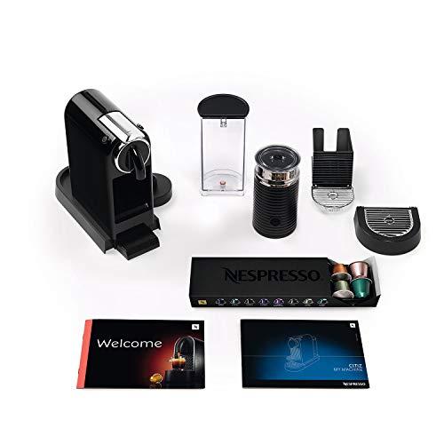 Nespresso 11317 Capsule Coffee Machine, Plastic, 1870 W, Black