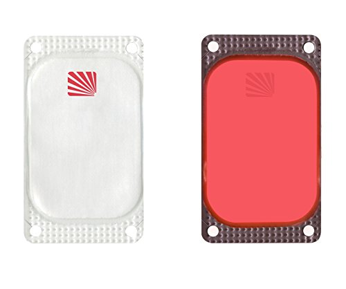 Cyalume - Paquete de 250 balizas luminosas adhesivas rectangulares VisiPad, 10 horas,...