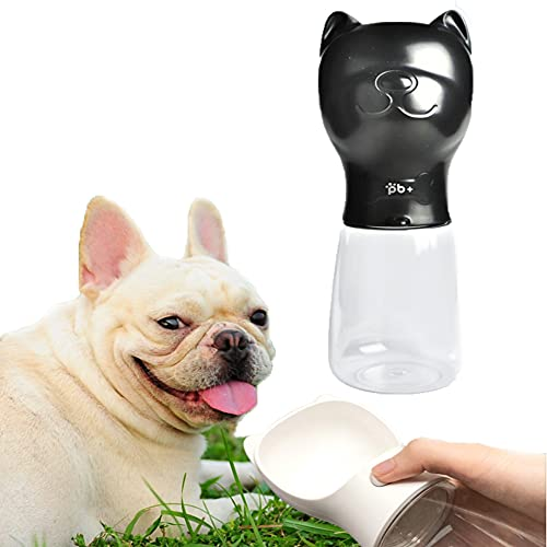 Botella de Agua para Perros, Botella de Viaje para Mascotas al Aire Libre, Botella de Agua Potable Portátil para Exteriores Antibacteriana y sin BPA para Gatos Perros y Otras Mascotas