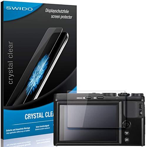 SWIDO Bildschirmschutzfolie für Fujifilm XF-10 [3 Stück] Kristall-Klar, Extrem Kratzfest, Schutz vor Öl, Staub & Kratzer/Folie, Glasfolie, Bildschirmschutz, Schutzfolie, Panzerfolie