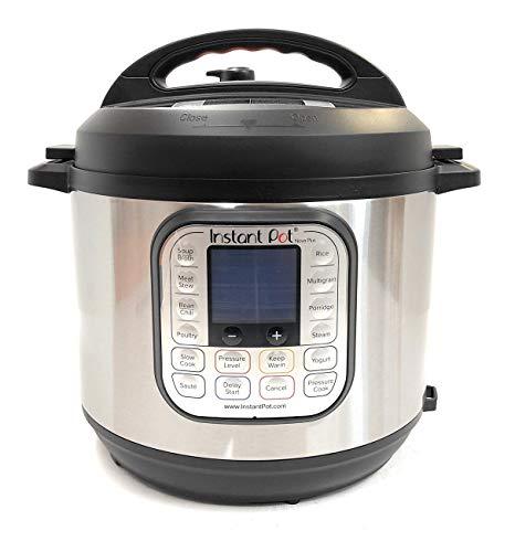 Instant Pot Nova Plus 6 Qt 9-in-1 Multi-Use Programmable Pressure Cooker, Slow Cooker, Rice Cooker, Crock Pot, Steamer, Sauté, Yogurt Maker and Warmer