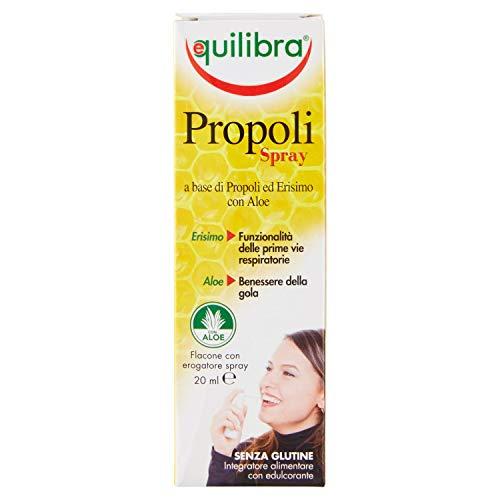 Equilibra Integratore Alimentare Propoli Spray, Flaconcino - 20 ml