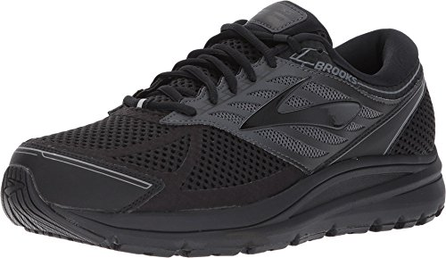 Brooks Addiction 13, Scarpe da Running Uomo, Nero (Black/Ebony 071), 44 EU