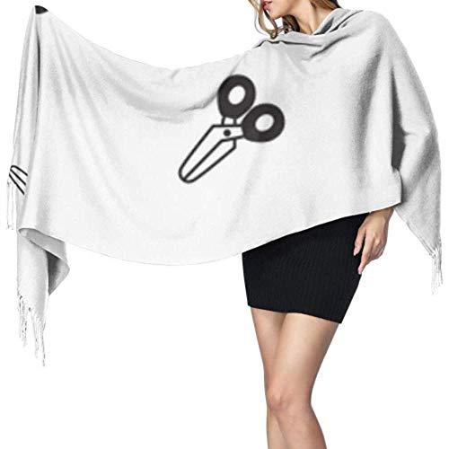 Kevin-Shop 27 'x 77' Dames sjaal lichte voortreffelijke schaar dagelijks gereedschap goedkoop sjaal lichte sjaal voor meisjes stijlvolle grote warme deken