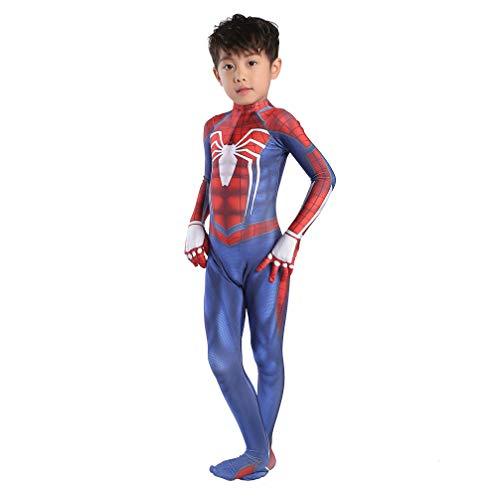 Cosplay Ropa Niños Spider-Man PS4 Anime Disfraz Lycra Navidad Ropa De Halloween Marvel Avengers Cosplay Ropa