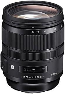 SIGMA 標準ズームレンズ Art 24-70mm F2.8 DG OS HSM キヤノン用 フルサイズ対応